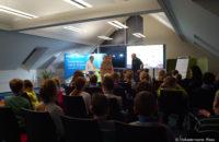 Begrüßung zur Vorlesung bei der HGDS durch den Geschäftsführer Jan Gebauer
