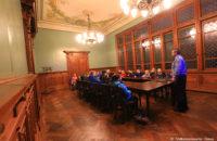 Vorlesung bei Polizeihauptkommissar Hermann Braunger